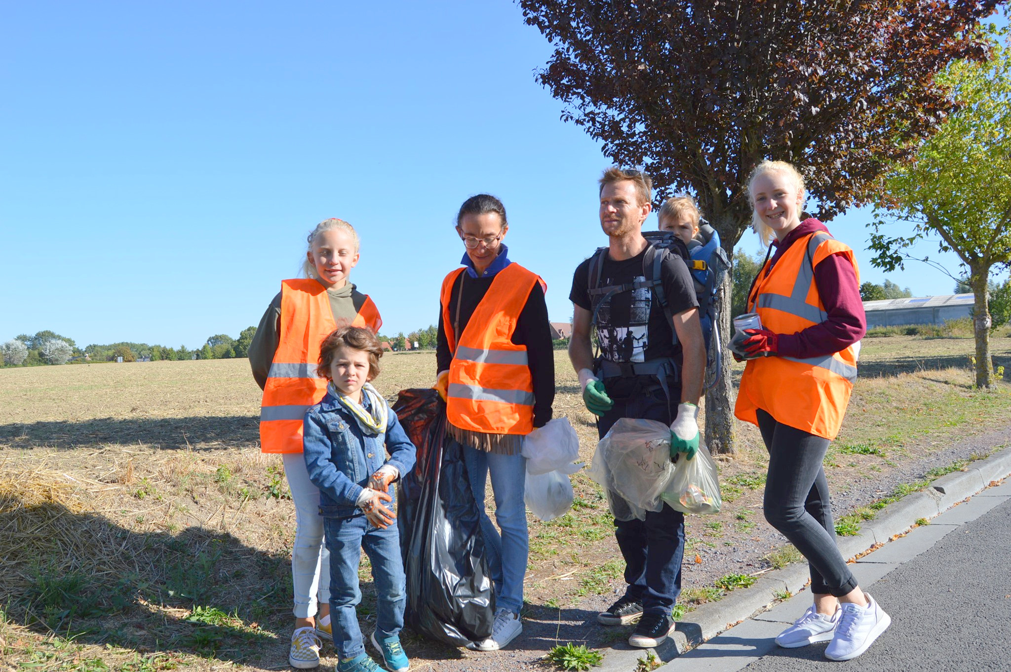 World CleanUp Day à Bondues (1)